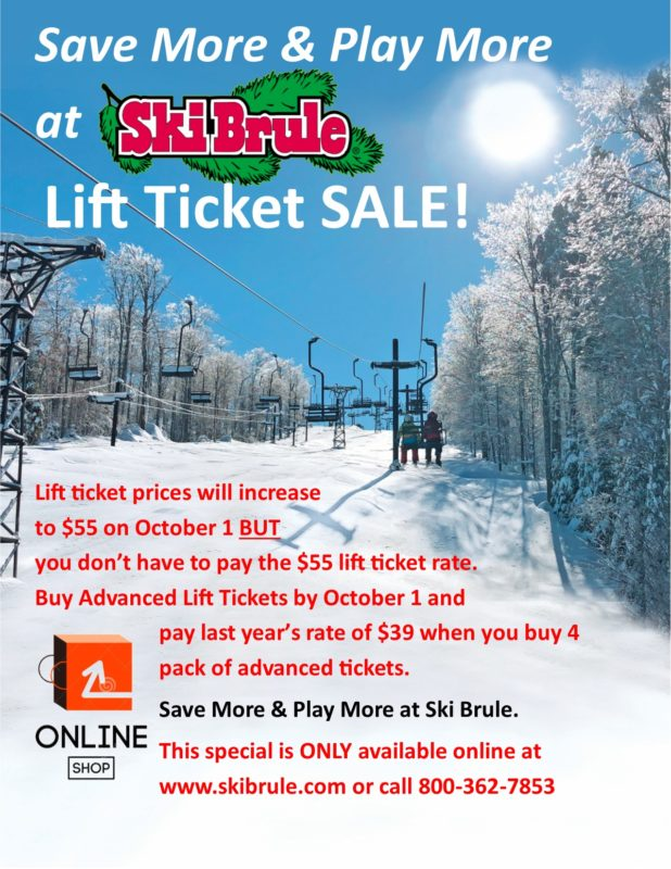 Advanced Lift Ticket 4 pack